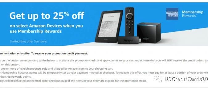 <b>Amazon Shop With Points介绍【25% off device;$30 off $60 offer </b>